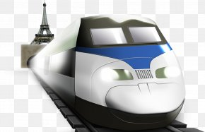 Train - Train Rail Transport High-speed Rail PNG