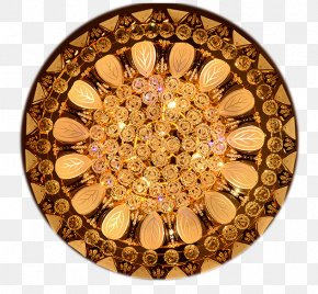 Round Yellow Crystal Lamp In Kind Promotion - Manuel Gil Darts Game Hoop Rolling ELECTRONICA VALENCIA PNG