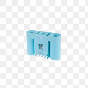 Creative Toothbrush Holder Multifunction Strong Glue Azure - Toothbrush Toothpaste Designer PNG