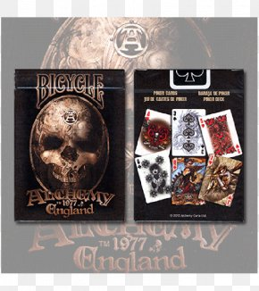 Alchemy Tattoo - United States Playing Card Company Contract Bridge Bicycle Playing Cards Hearts PNG