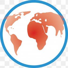 Transparent Earth - Australia World Map Globe Location PNG