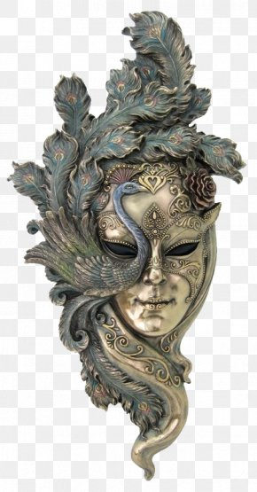 Phoenix Mask - Carnival Of Venice Venetian Masks Masquerade Ball PNG