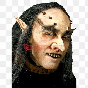Nose - Goblin Nose Prosthesis Cheek Eyebrow PNG