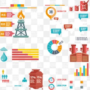 Creative Oil Industry - Petroleum Industry Infographic Diagram PNG
