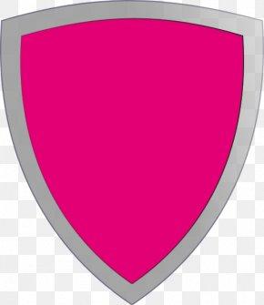 Shield - Pink Shield Volcano Clip Art PNG
