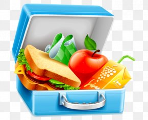 Blt Cliparts - Packed Lunch Breakfast Lunchbox Clip Art PNG