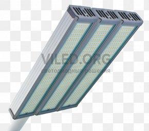 Street Light - Light Fixture Light-emitting Diode Street Light LED Lamp Solid-state Lighting PNG