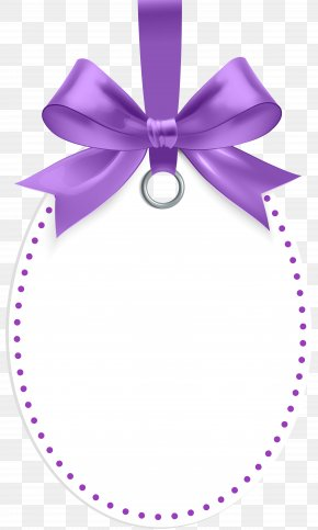 Label With Purple Bow Template Clip Art - Robert And Kathleen Photographers Green Wedding Bride Fashion PNG