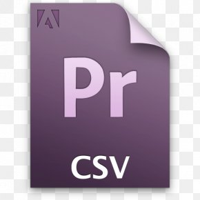 Iconfinder Icon Partner - Adobe Premiere Pro Computer File Comma-separated Values PNG