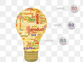 Creative Lamp Chart - Lamp Creativity PNG
