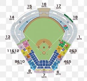 Seat - Meiji Jingu Stadium Tokyo Yakult Swallows Hiroshima Toyo Carp Hanshin Tigers ビジター応援席 PNG
