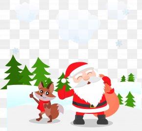 Vector Santa Claus - Santa Claus Christmas Vecteur PNG