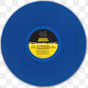 Celestial Bodies - Phonograph Record Cobalt Blue Electric Blue Compact Disc PNG