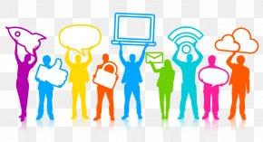 Social Media - Social Media Marketing Influencer Marketing Clip Art PNG