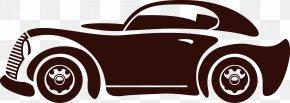 Vector Retro Car - Vintage Car Automotive Design PNG