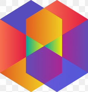 Abstract Colored Geometric Shapes Pattern - Shape Geometry Polygon Pattern PNG