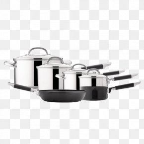 Non Stick Cooking Utensils Are Coated With - Stainless Steel Cookware Stock Pots Frying Pan PNG