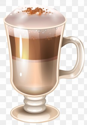 Coffee And Milk Clipart Image - Coffee Cup Tea Clip Art PNG