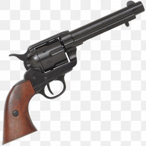 Revolver - Colt Single Action Army .45 Colt Revolver Colt's Manufacturing Company Firearm PNG