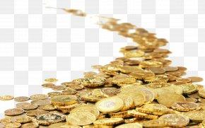 Lakshmi Gold Coin - Gold Coin Desktop Wallpaper Stock Photography PNG