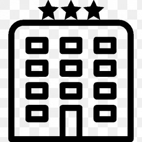 Hotel - Hotel Icon Star Icon Design PNG