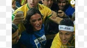 Neymar - Bruna Marquezine Neymar Brazil National Football Team 2014 FIFA World Cup PNG