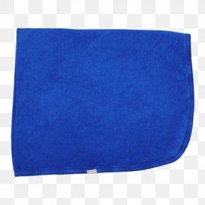 Blanket - Cobalt Blue Electric Blue Azure Turquoise PNG