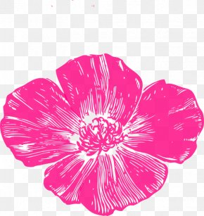 Hot Pink - Poppies Bakery & Café Remembrance Poppy Clip Art PNG