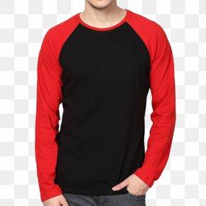 T-shirt - Printed T-shirt Raglan Sleeve Hoodie PNG