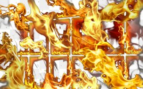 Flame Effect - Flame Live Wallpaper Character Illustration PNG