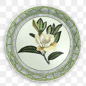 Magnolia - Plate Tableware Tray Platter Ceramic PNG