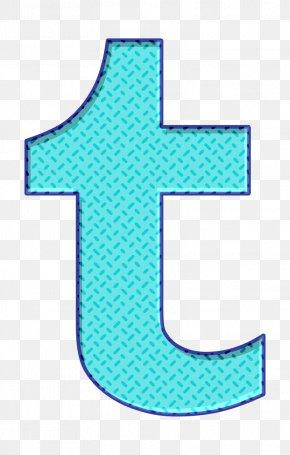 Electric Blue Symbol - Social Icon Social Media Icon T Icon PNG