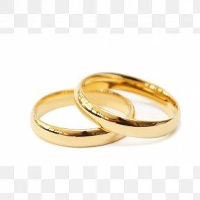 Wedding Ring - Wedding Ring Gold Jewellery Earring Białe Złoto PNG