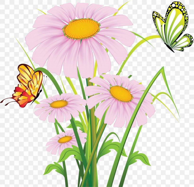 Flower Vector Graphics Clip Art Floral Design Illustration, PNG, 6503x6274px, Flower, Botany, Camomile, Cartoon, Chamomile Download Free