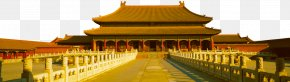 Building - Forbidden City Summer Palace Great Wall Of China Temple Of Heaven Forbidden Gardens PNG