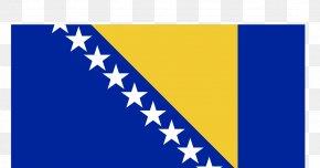 Flag - Flag Of Bosnia And Herzegovina Republic Of Bosnia And Herzegovina National Flag PNG