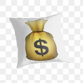 Money Bag - T-shirt Money Bag Emoji Sticker PNG