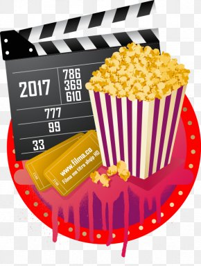 Popcorn - Popcorn Photographic Film Cinema PNG