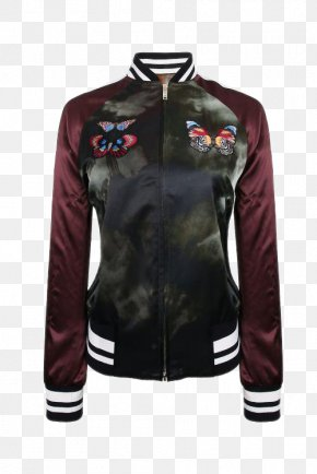 16 Years Dongkuan Ms. Spell Color Jacket Baseball Uniform Jacket - Leather Jacket Baseball Uniform Outerwear PNG
