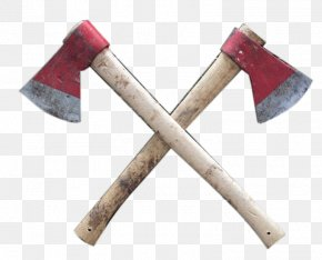 Two Ax - Knife Axe Weapon Splitting Maul PNG