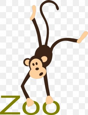 Free Zoo Animals Clipart - Monkey Free Content Drawing Royalty-free Clip Art PNG