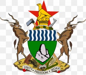 Usa Gerb - Coat Of Arms Of Zimbabwe Flag Of Zimbabwe National Coat Of Arms PNG