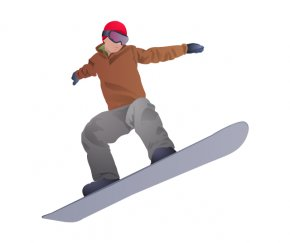Snowboard Transparent Background - 2018 Winter Olympics Olympic Games Winter Sport Clip Art PNG