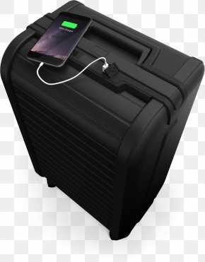 Travel Trunks - Suitcase Baggage Hand Luggage Travel Battery Charger PNG