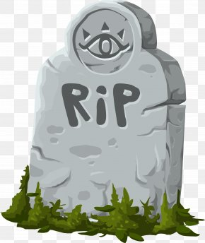 Grave - Headstone Grave Rest In Peace Cemetery Clip Art PNG