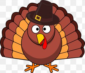 Turkey Picture - Black Turkey Pilgrim Thanksgiving Clip Art PNG