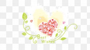 Vector Painted Vines Love - Mother's Day Illustration PNG