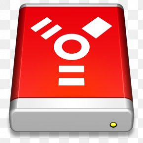 Firewire Drive Red - Area Brand Sign Telephony PNG