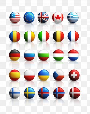 Ball Countries Flags Summary - National Flag Flags Of The World Icon PNG