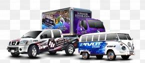 Vehicle - Car Wrap Advertising Vehicle Printing PNG
